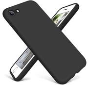 ShieldCase® Siliconen hoesje met camera bescherming iPhone SE 2020 (zwart)