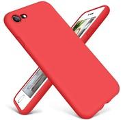ShieldCase® Siliconen hoesje met camera bescherming iPhone SE 2020 (rood)