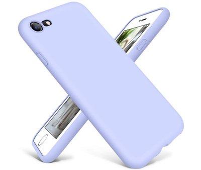 ShieldCase Shieldcase Siliconen hoesje met camera bescherming iPhone SE 2020 (paars)