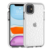 ShieldCase® Diamanten case iPhone 11 (wit)