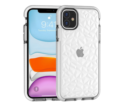 ShieldCase ShieldCase diamanten case iPhone 11 (wit)