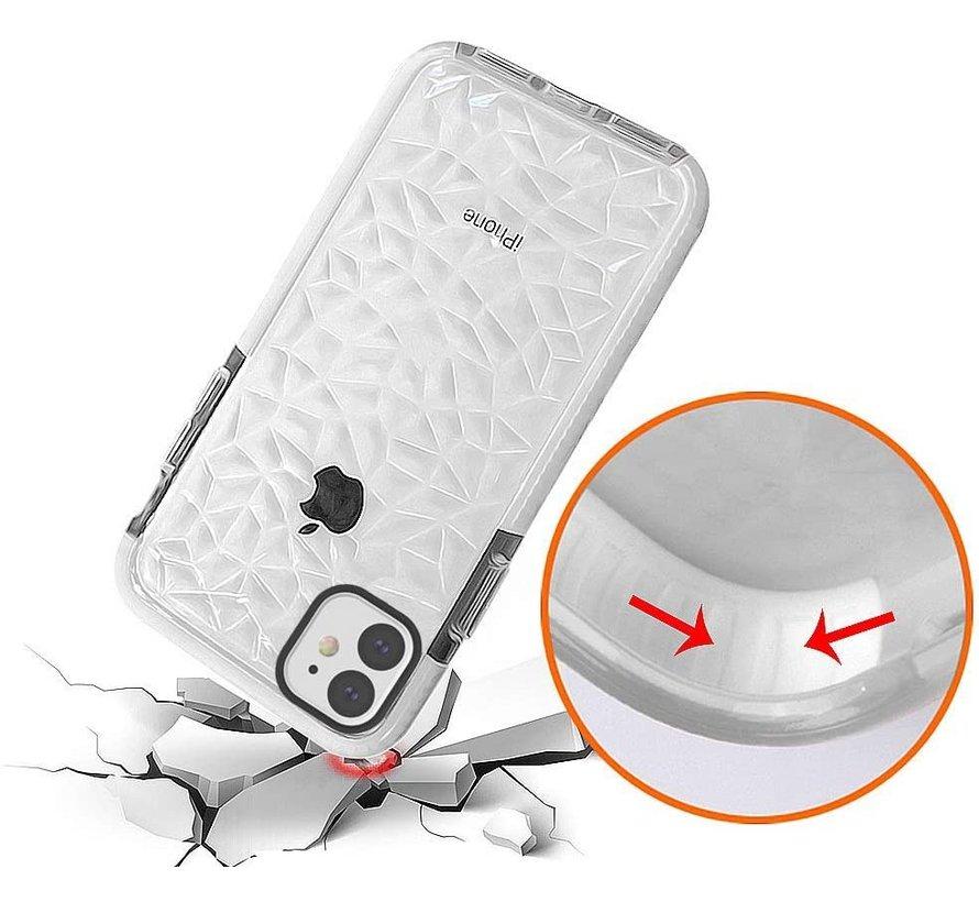 ShieldCase diamanten case iPhone 11 (wit)