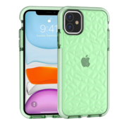 ShieldCase® Diamanten case iPhone 11 (groen)