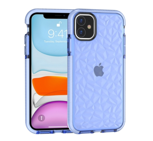 ShieldCase® ShieldCase diamanten case iPhone 11 (blauw)
