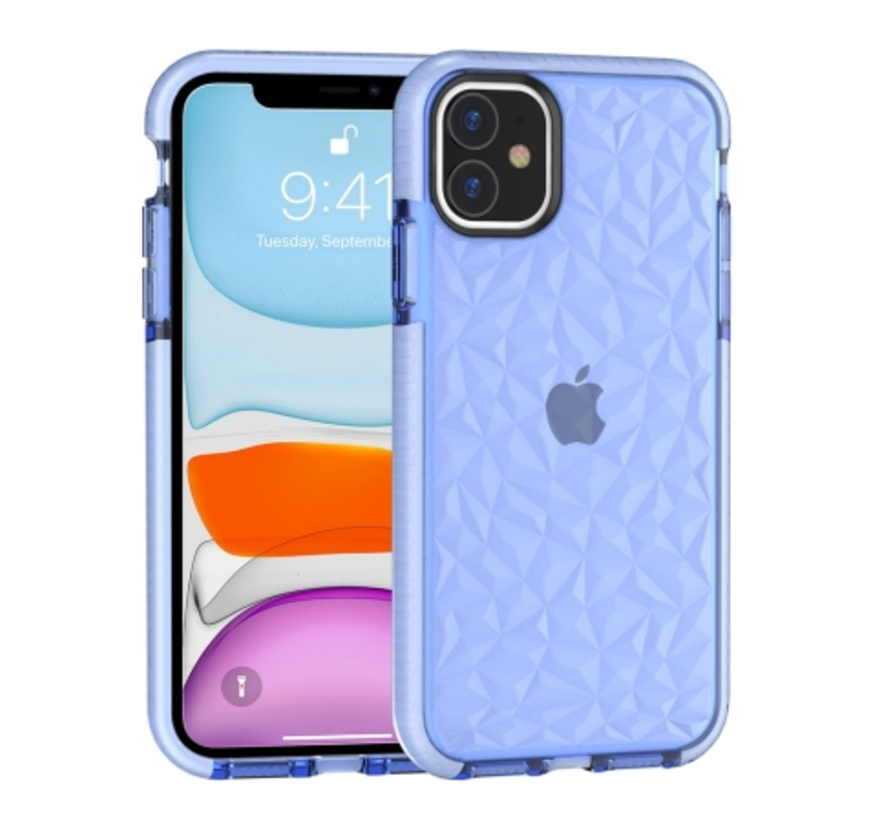 ShieldCase You're A Diamond iPhone 11 hoesje (blauw)