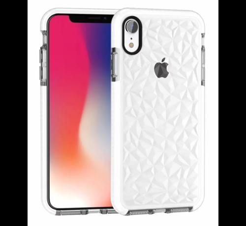 ShieldCase® ShieldCase diamanten case iPhone Xr (wit)