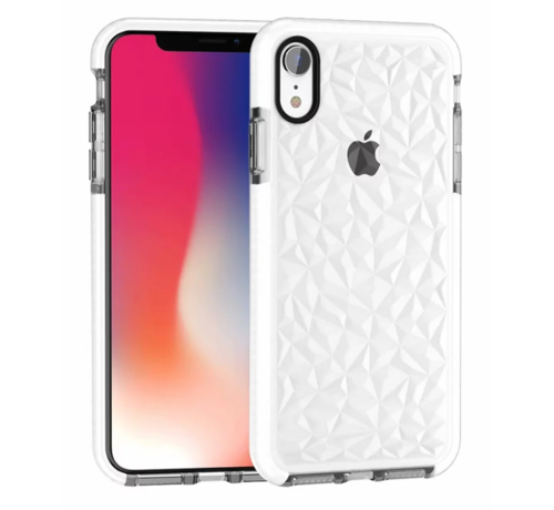 ShieldCase® ShieldCase You're A Diamond iPhone Xr hoesje (wit)