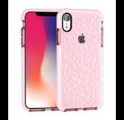ShieldCase® Diamanten case iPhone  Xr (roze)