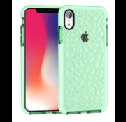 ShieldCase® Diamanten case iPhone  Xr (groen)