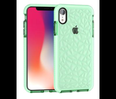 ShieldCase® ShieldCase diamanten case iPhone Xr (groen)