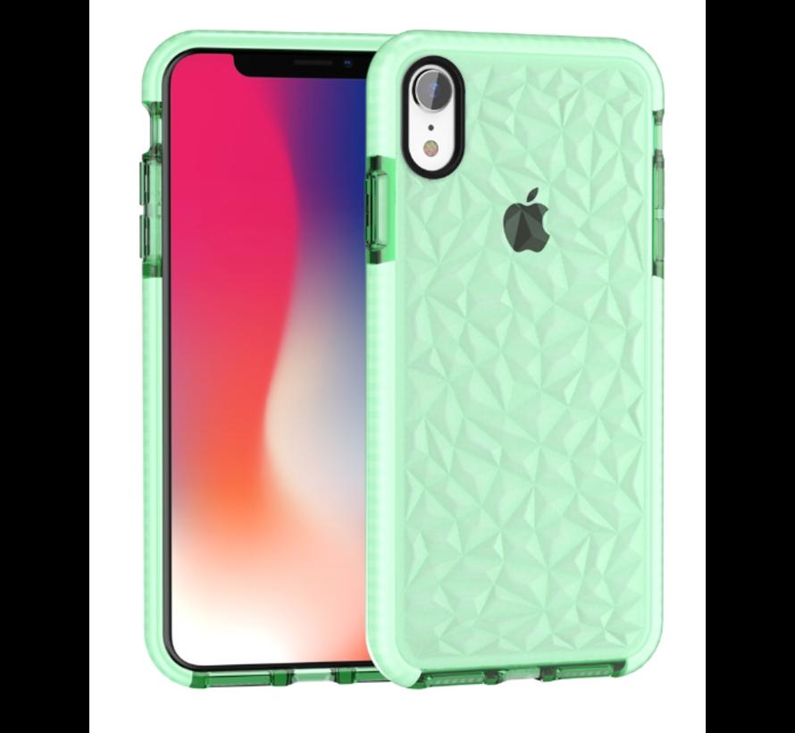 ShieldCase diamanten case iPhone Xr (groen)