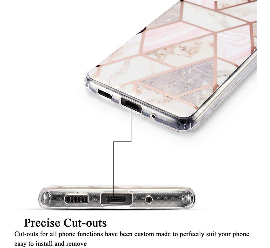 ShieldCase Samsung Galaxy S20 hoesje marmeren patroon