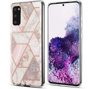 ShieldCase® Samsung Galaxy S20 hoesje marmeren patroon