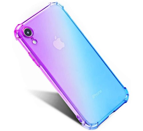ShieldCase ShieldCase Paars-blauwe Shock case iPhone X / Xs