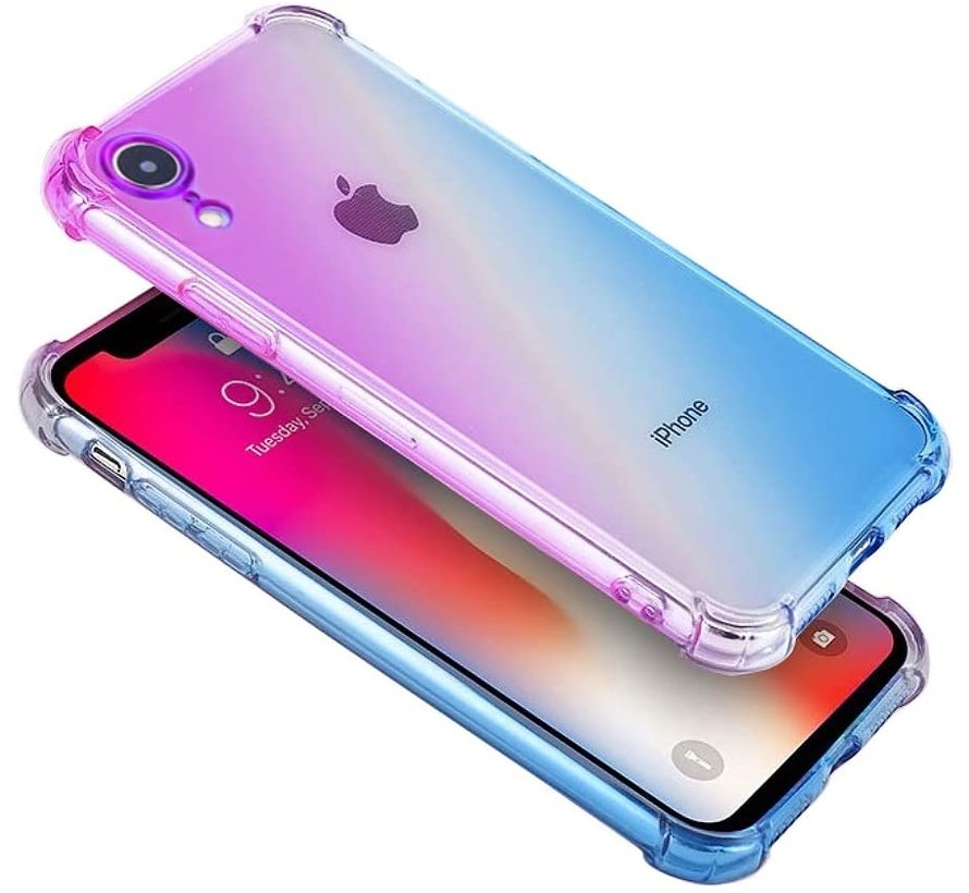 ShieldCase Paars-blauwe Shock case iPhone X / Xs