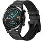 Huawei Watch GT bandje leer (zwart)