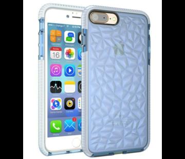 ShieldCase® Diamanten case iPhone 8 Plus / 7 Plus (blauw)