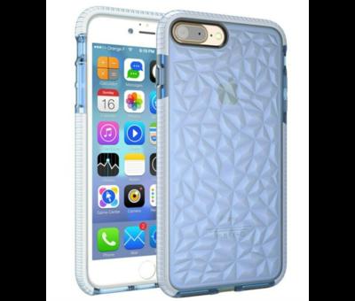 ShieldCase® ShieldCase You're A Diamond iPhone 8 Plus / 7 Plus hoesje (blauw)