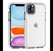 ShieldCase® Diamanten case iPhone 11 Pro (wit)