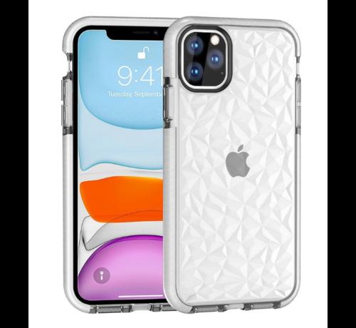 ShieldCase® ShieldCase diamanten case iPhone 11 Pro (wit)