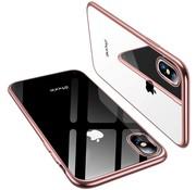 ShieldCase® Rosé gouden metallic bumper case iPhone X / Xs