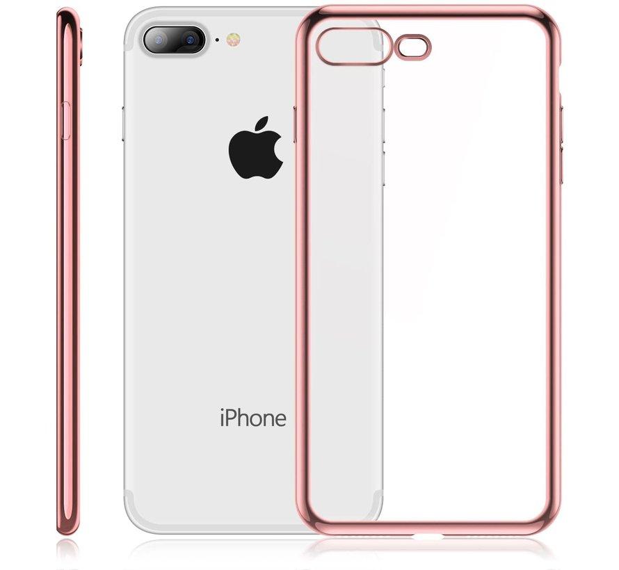 ShieldCase rosé gouden metallic bumper case iPhone 8 Plus / 7 Plus