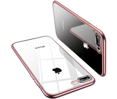 ShieldCase® ShieldCase rosé gouden metallic bumper case iPhone 8 Plus / 7 Plus
