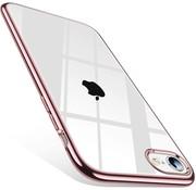 ShieldCase® Rosé gouden metallic bumper case iPhone SE 2020
