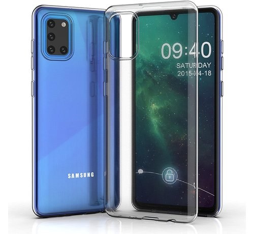 ShieldCase® Shieldcase Samsung Galaxy A31 Ultra thin case (transparant)