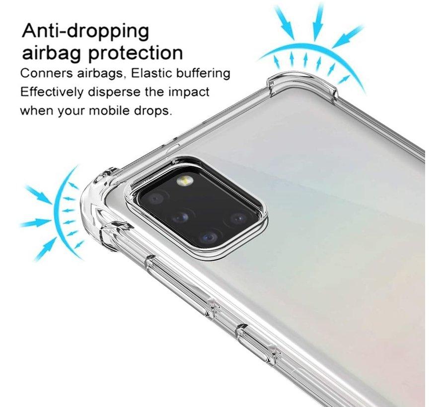 ShieldCase Samsung Galaxy A31 shock case (transparant)