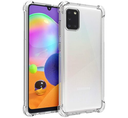ShieldCase® ShieldCase Samsung Galaxy A31 shock case (transparant)