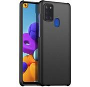 ShieldCase® Samsung Galaxy A21s Slim case (zwart)