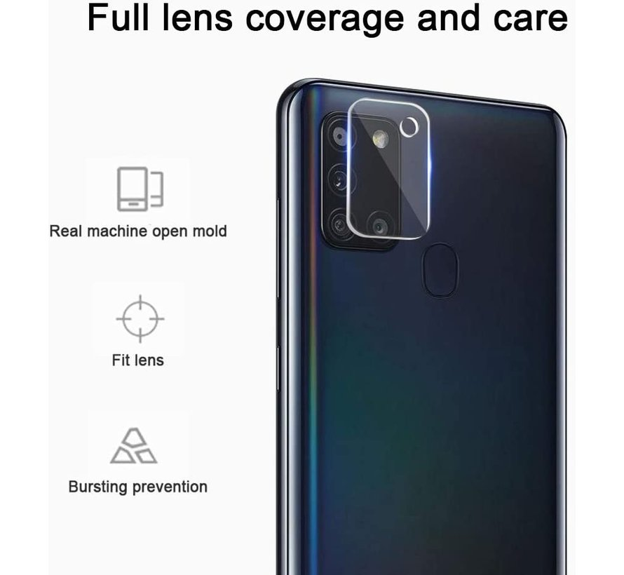 ShieldCase Samsung Galaxy A21s camera lens protector
