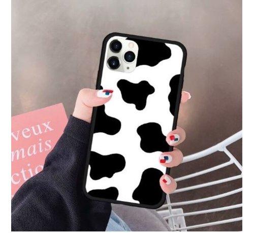ShieldCase® ShieldCase iPhone 11 Pro Max TPU hoesje met koeienpatroon