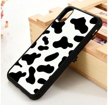 ShieldCase® iPhone Xr TPU hoesje met koeienpatroon