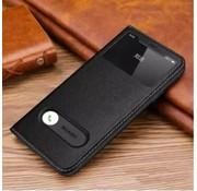 ShieldCase® Flipcase met open scherm iPhone SE 2020 (zwart)