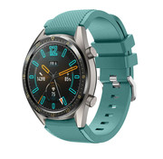 Huawei Watch GT silicone band (dennengroen)