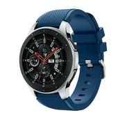 Samsung Galaxy Watch silicone bandje (donkerblauw)