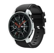Samsung Galaxy Watch silicone bandje (zwart)