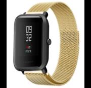 Xiaomi Amazfit Bip Milanese band ( goud)