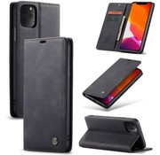 CaseMe Luxe bookcase iPhone 11 Pro Max (zwart)