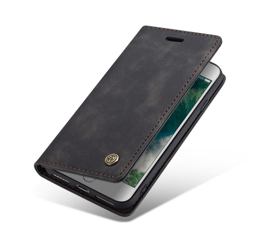CaseMe Luxe bookcase iPhone X / Xs (zwart)