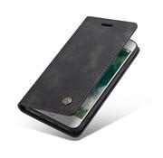 CaseMe Luxe bookcase iPhone SE 2020 (zwart)