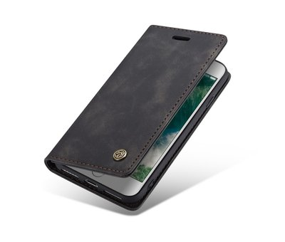 CaseMe CaseMe Luxe bookcase iPhone SE 2020 (zwart)
