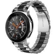 Samsung Galaxy Watch stalen band (zilver/zwart)