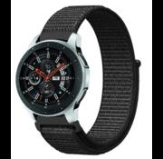 Samsung Galaxy Watch nylon band (zwart)