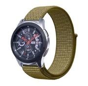Samsung Galaxy Watch nylon band (olijf)