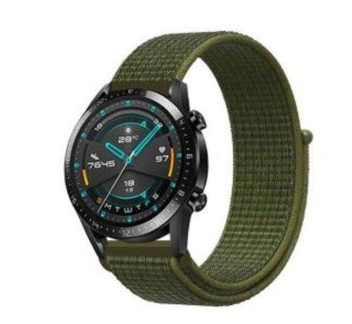 Huawei Watch GT nylon band (olijf)
