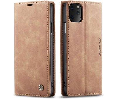 CaseMe CaseMe Luxe bookcase iPhone 11 Pro (bruin)