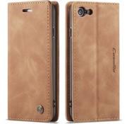 CaseMe Luxe bookcase iPhone 7 / 8 (bruin)